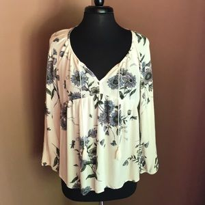 Old Navy Loose and Flowy Dress Top Size Medium
